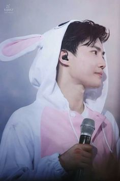 Suho the bunny #exolutiondotinseoul