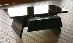 Contemporary Arcade Coffee Tables :: surface tension