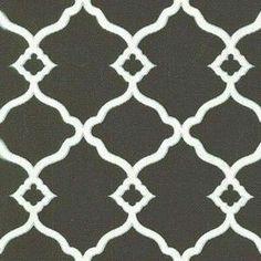 Waverly Chippendale Sun N Shade Fretwork Onyx Fabric  $9.60 per yard