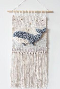 Login – Frida K – weberei Crochet Wall Hangings, Weaving Wall Hanging, Weaving Art, Loom Weaving, Tapestry Weaving, Hanging Wall Art, Wall Tapestry, Hand Weaving, Weaving Projects