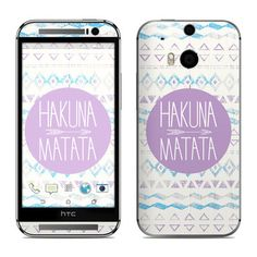 HTC One M8 Skin - Hakuna Matata!  It means no worries For the rest of your days It's our problem-free philosophy Hakuna Matata!