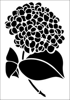 Flower stencils from The Stencil Library. Stencil catalogue quick view page 14.