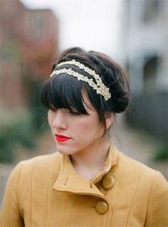 Love the headband...if only I were this put together.