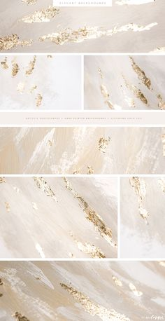 Christmas Gold Foil Backgrounds by eclosque on @creativemarket