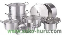 Unbelievable, best deal in town. 7pc sufurias + matching lids Kshs 3000/= -- http://www.soko-huru.com/item/id/5227 -- #sokohuru