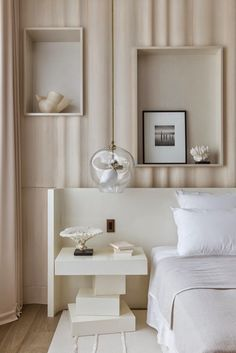 Bedroom Bliss. Interior Designer: Damien Langlois-Meurinne