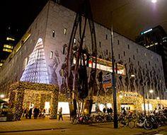 Turn on the Lights! #festive #deBijenkorf #Rotterdam