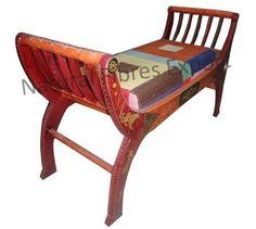 Upholstered Bench ottoman