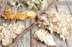 Paper Flower Garland Backdrop Sneak Peek | Ellinée | handcraft your life