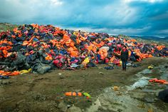 The 'Lifejacket Graveyard' That Speaks Volumes About The Refugee Crisis