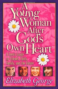 A Young Woman After God's Own Heart: A Teen's Guide to Friends, Faith, Family, and the Future by Elizabeth George, http://www.amazon.com/dp/0736907890/ref=cm_sw_r_pi_dp_yfyArb156VJSY   Bible study to go along with having a heart for God, friends, and choices in a God centered direction.  Keeping focused and encouraged through the teen years into young womanhood.  My daughter enjoyed it.