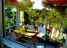 Wintergarten mit Spiegelung - patchwork impressions