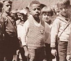 """Rhineland Bastard"" derogartary term in Nazi Germany"