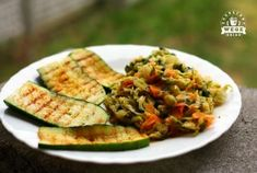 Oczyszczanie dietą dr Dąbrowskiej - trzecie podejście dzień 1 - przepisy - ZAKRĘCONY WEGE OBIAD - wegański catering i blog Atkins, Food For Thought, Vegan Vegetarian, Risotto, Zucchini, Food And Drink, Health Fitness, Nutrition, Healthy Recipes