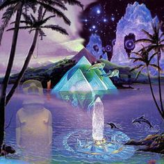 The Atlanteans were aware of the inherent power of crystals and their energy vibrations...