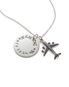Corporate Gifts for Flight Attendants, Pilots, Airline Personnel, Custom Designed and Engraved Jewelry and Accessories by Shiny Little Blessings.