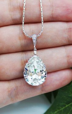 Swarovski crystal necklace. Gorgeous!