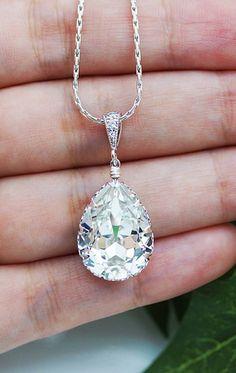 Swarovski crystal necklace. Gorgeous!
