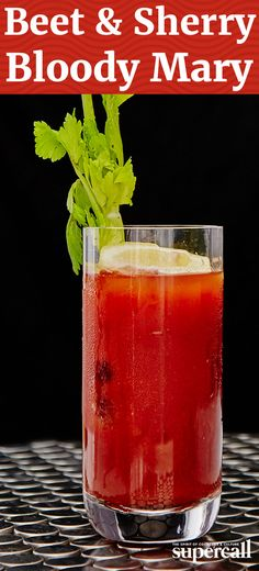This powerful Bloody Mary starts with tomato but then goes deep, adding in earthy beet juice, salty, umami-boosting Maggi sauce, and a hot splash of Tabasco.