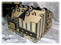Card Caddy to hold all those beautiful handmade cards with dividers for each holiday or occasion.