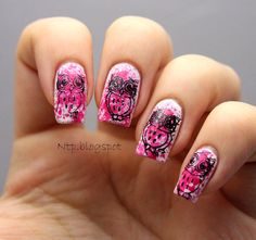 Nails to photos: #ablecaw14 Week 12: Pretty in pink