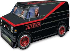 The A-Team - 'The Complete Series: Limited Edition Box Set' Comes in the Shape of the B.A. Van!