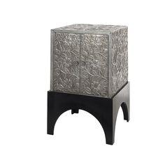 Cambria Mango Wood / Iron Storage Cabinet | The Company Store
