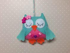 Felt owl-Owl ornaments--Owl decor-Hanging ornament-Beige owl-Gray owl-Felt animals-Nursery decor-Nursery owl-Baby owl-Owls by SnowFelts on Etsy https://www.etsy.com/listing/510636673/felt-owl-owl-ornaments-owl-decor-hanging