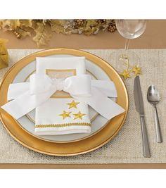 Plate Decor | Christmas Table Setting
