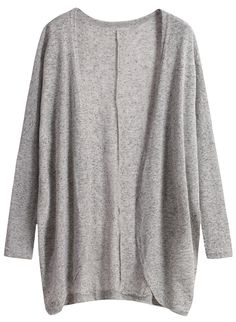Cardigan coat is just popular for a whole winter .And it's cardigan now for a warm spring casual outfit !This grey knit cardigan is nice made for a nice price.Click photo for more cardigans for you !