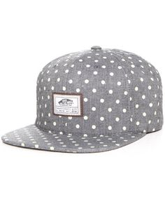 Vans Men Blackout Starter Snapback Cap Grey $24.00