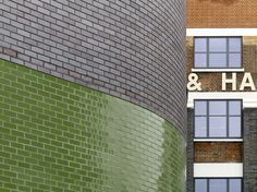 Mint Street Peabody Housing / Pitman Tozer Architects ooooo! But with aqua tiles and white brick or limestone!!!!!
