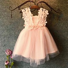 Cheap girl dress for wedding, Buy Quality girls trapeze dress directly from China dresses for big girls Suppliers: Flower Girls Dresses For Party and Wedding Toddler Kid's Strap Floral Dress Baby Girl Clothes Baptism Party Boutique Clothing Fashion Kids, Baby Girl Fashion, Princess Fashion, My Baby Girl, Pink Girl, Baby Girls, Kids Girls, Toddler Girls, Infant Toddler