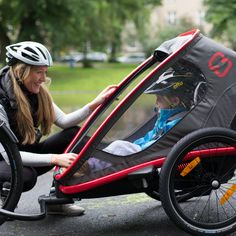 We all know that getting outside and exercising is good for us but there are many other benefits of owning a bike trailer.
