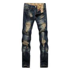 Individual Design 2017 Top Mens <b>Washing</b> Printed Jeans For Men ...
