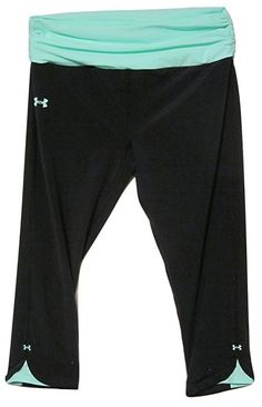 UNDER ARMOUR Shatter II Capri Yoga Stretch Compression Pants Legging Black M #UnderArmour #PantsTightsLeggings