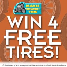 Happy Frigid Friday! Warm your self up and Enter to Win Today. Share your entry with friends for more chances to win! http://www.facebook.com/mavisdiscounttire