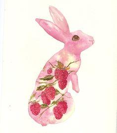 Inspiration peinture: silhouette d'animal avec des choses inusitées peintes à l'intérieur