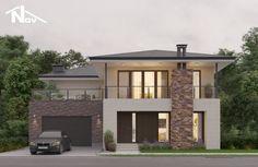 2 Storey House Design, Duplex House Design, Modern House Design, House Structure Design, Country Home Exteriors, House Construction Plan, Beautiful House Plans, Home Design Floor Plans, Villa