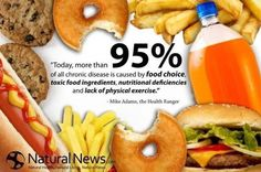Get rid of junk, eat food and not CRAP. --- Junk just isn't donuts and fast food. It's any food heavy in fat and calories and not dense in nutrients. More veggies and whole grains on your what I had for dinner list or pay the price later at the doctor. Health And Nutrition, Health And Wellness, Health Fitness, Nutrition Quotes, Health Quotes, Health Facts, Nutrition Data, Fitness Foods, True Health