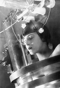 Metropolis- a science fiction classic. The film's director was Fritz Lang. Filmed in 1927.
