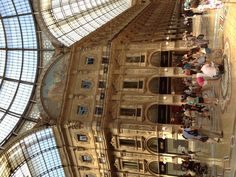 Shopping centre, Milan, Italy, 2012