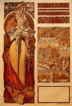 Mucha -Paris 1900