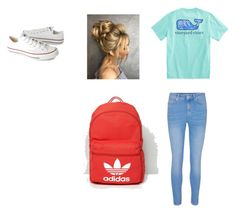 """""""Untitled #2"""" by rebekahdrhodes03 ❤ liked on Polyvore featuring Converse and adidas Originals"""
