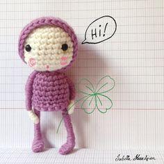 Isabelle Kessedjian: Petite poupée au crochet pour les SC n°148