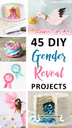 45 Of The Cutest Gender Reveal Party Ideas. | Coolcrafts.com