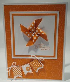 Stampin Up Banner Blast Birthday Card