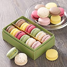 Macaroons (Box of 12) | Bettys Online