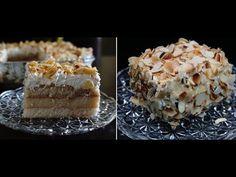 πάστα αμυγδάλου με κρέμα λαχταριστή-πανεύκολα στο σπίτι μας almond dessert CuzinaGias - YouTube Greek Recipes, Pie, Cooking, Desserts, Food, Youtube, Recipies, Torte, Kitchen