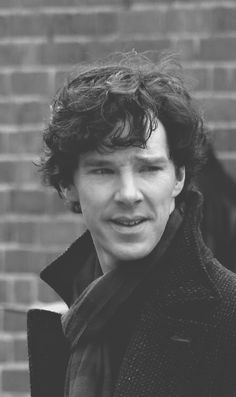 You always find the best photos on Tumblr. For example: This photo of Benedict Cumberbatch :)